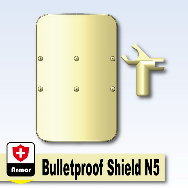 Tan_Bulletproof Shield N5