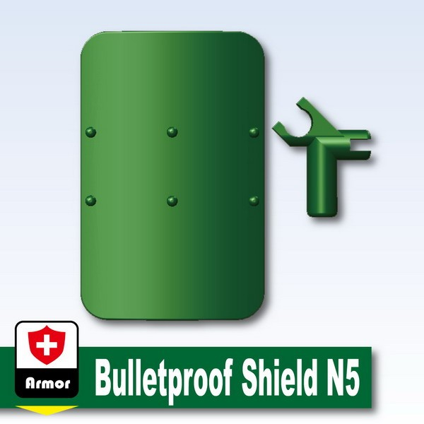 Dark Green_Bulletproof Shield N5