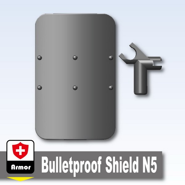 Iron Black_Bulletproof Shield N5