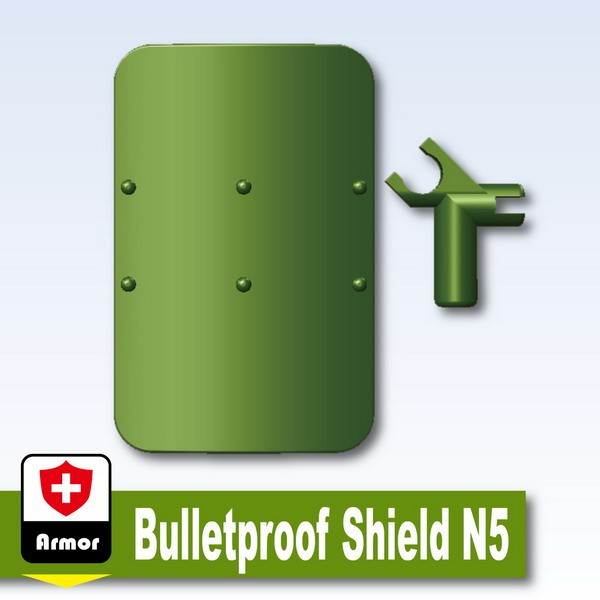 Iron Green_Bulletproof Shield N5