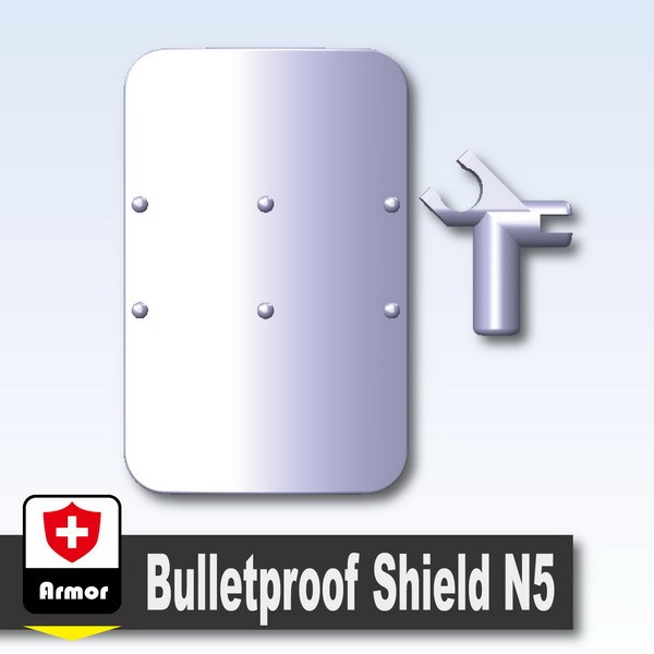 Light Silver_Bulletproof Shield N5