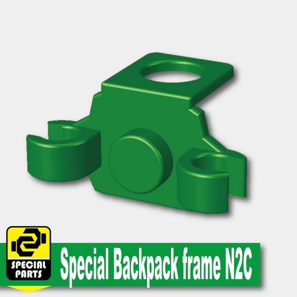 Green_Special Backpack frame N2C