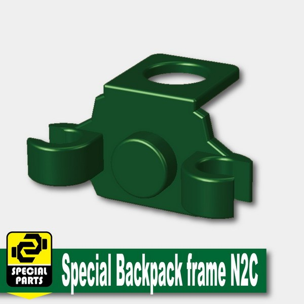 Dark Green_Special Backpack frame N2C