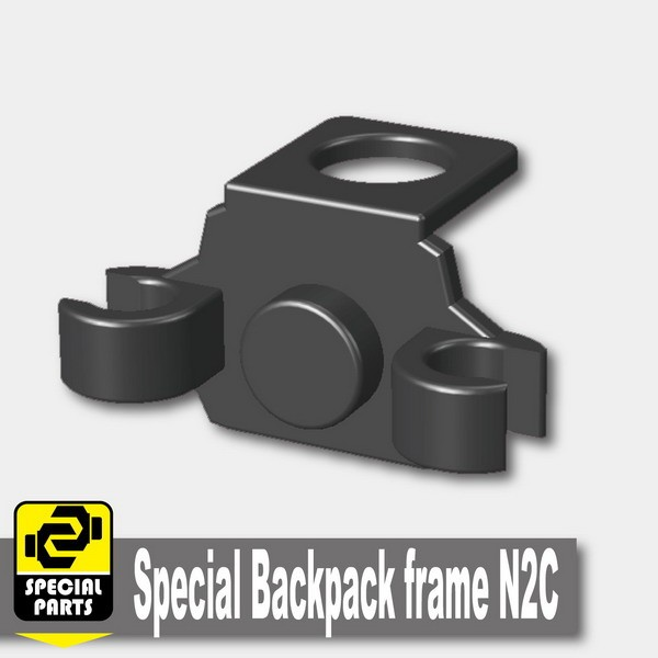 Iron Black_Special Backpack frame N2C