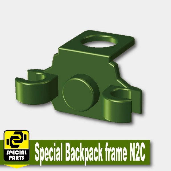 Iron Green_Special Backpack frame N2C