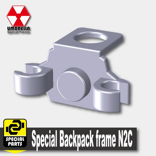 Light Silver_Special Backpack frame N2C