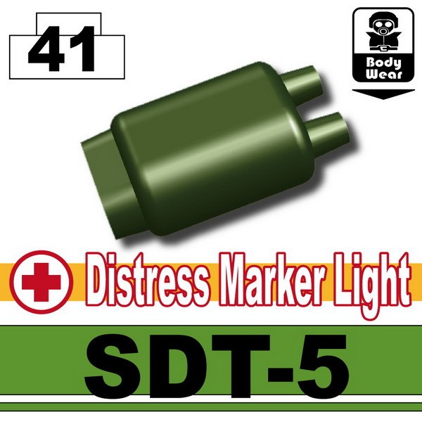 TanK Green_Distress Marker Light (SDT-5)