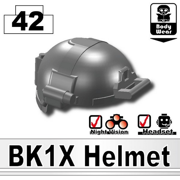 Iron Black_BK1X Helmet