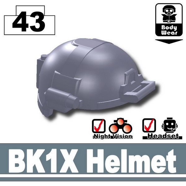 Dark Blue Gray_BK1X Helmet