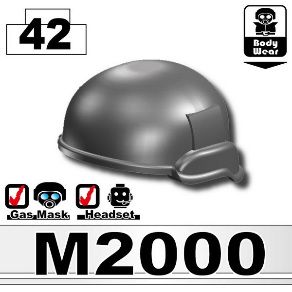 Iron Black_Helmet(M2000)