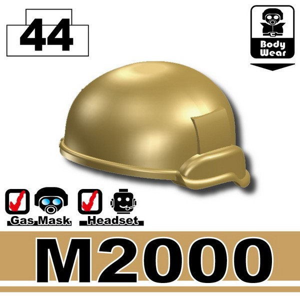 Dark Tan-2_Helmet(M2000)