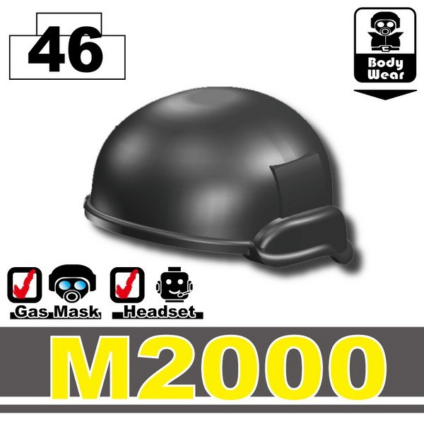 Pearl Dark Black_Helmet(M2000)