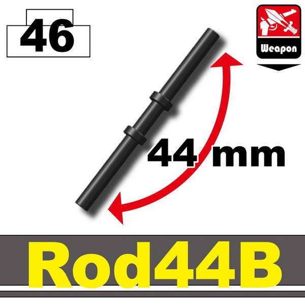 Pearl Dark Black_Rod44B