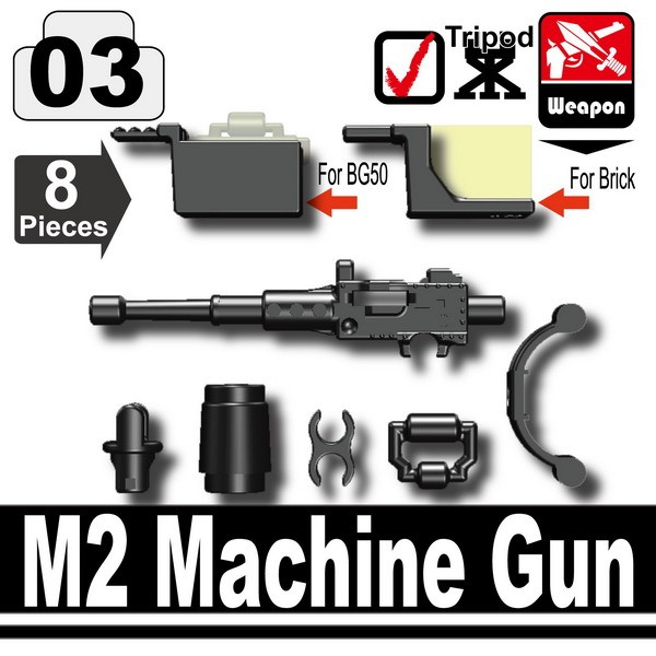 Black_M2 Machine Gun