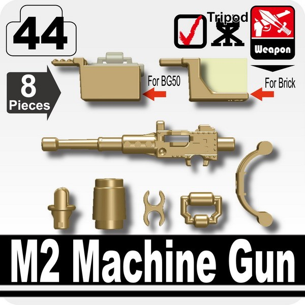 Dark Tan_M2 Machine Gun