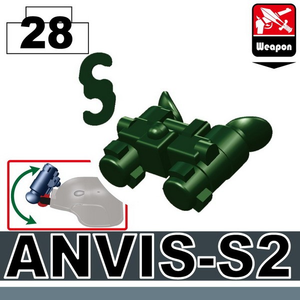 Dark Green_Night Vision(ANVIS-S2)