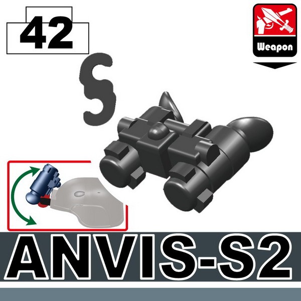 Iron Black_Night Vision(ANVIS-S2)