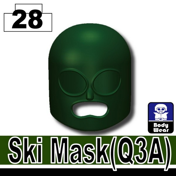 Dark Green_Ski Mask(Q3A)
