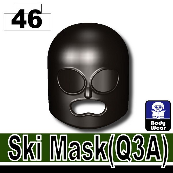 Pearl Dark Black_Ski Mask(Q3A)