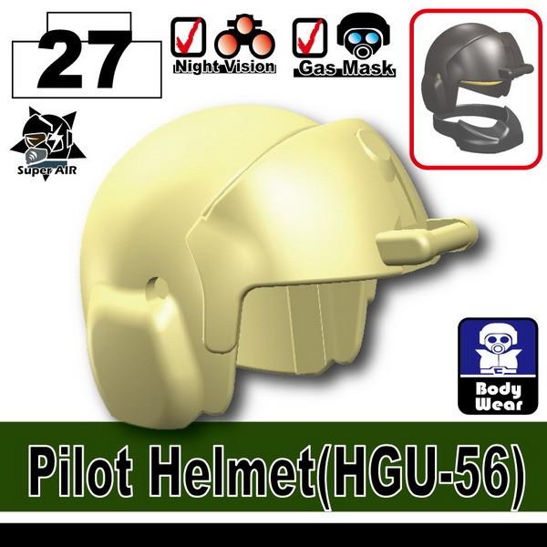 Minifig Cat Toys Shop > Headgear > Pilot Helmet(HGU-56)
