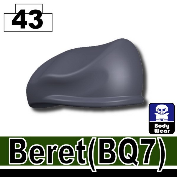 Dark Blue Gray_Beret(BQ7)