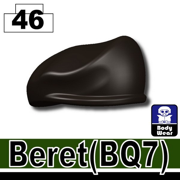 Pearl Dark Black_Beret(BQ7)