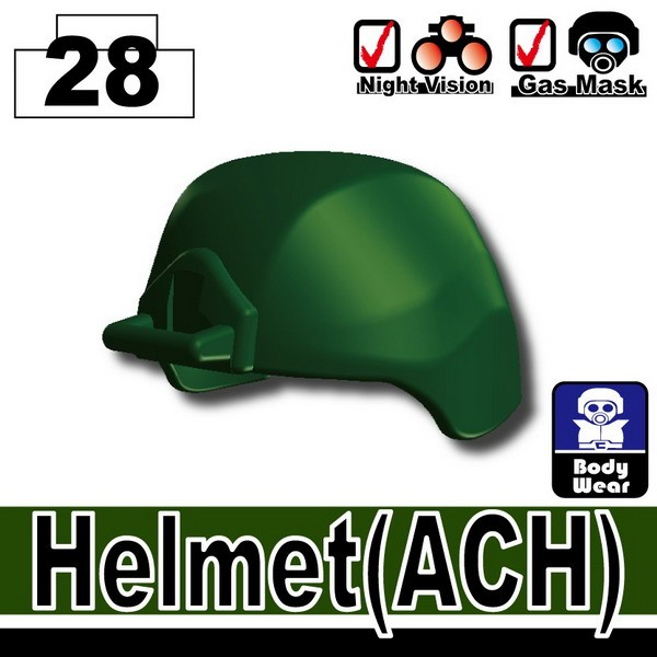 Dark Green_Helmet(ACH)