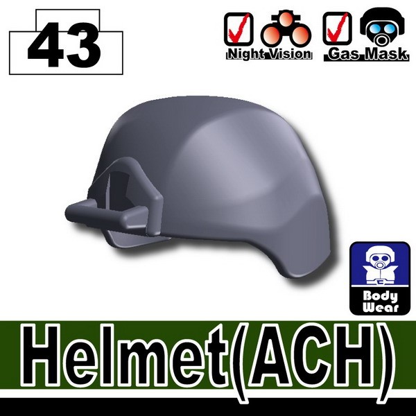 Dark Blue Gray_Helmet(ACH)