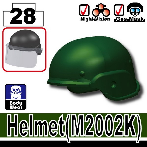 Dark Green_Helmet(M2002K)