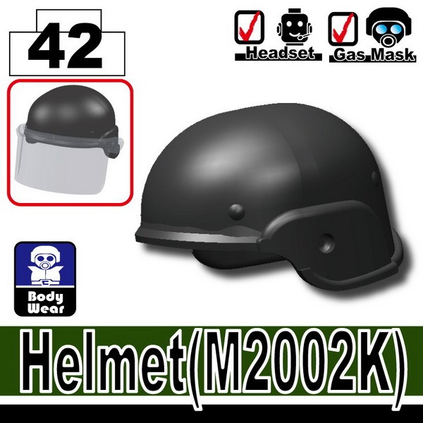 Iron Black_Helmet(M2002K)