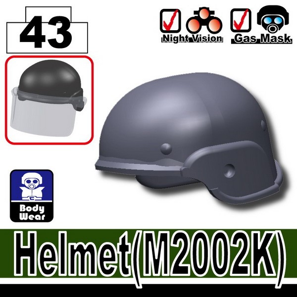Dark Blue Gray_Helmet(M2002K)