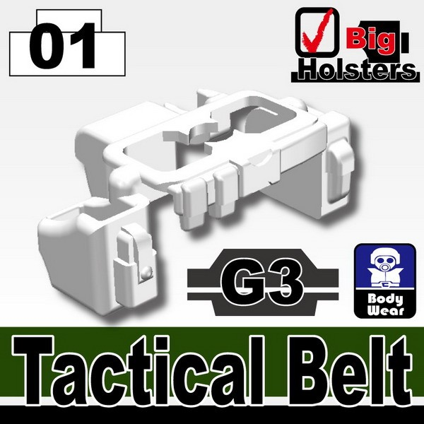 White_Tactical Belt(G3)