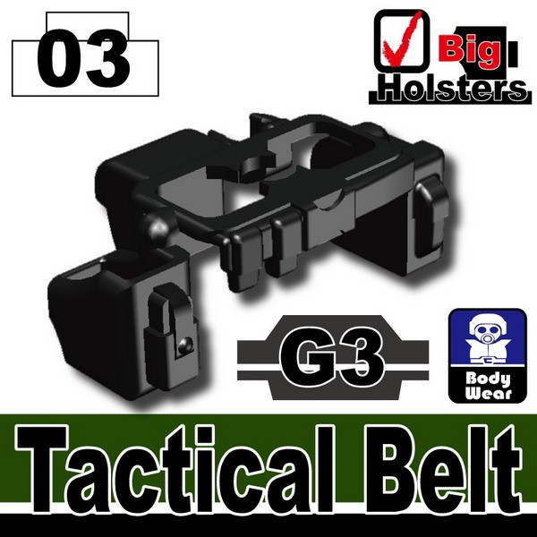 Black_Tactical Belt(G3)
