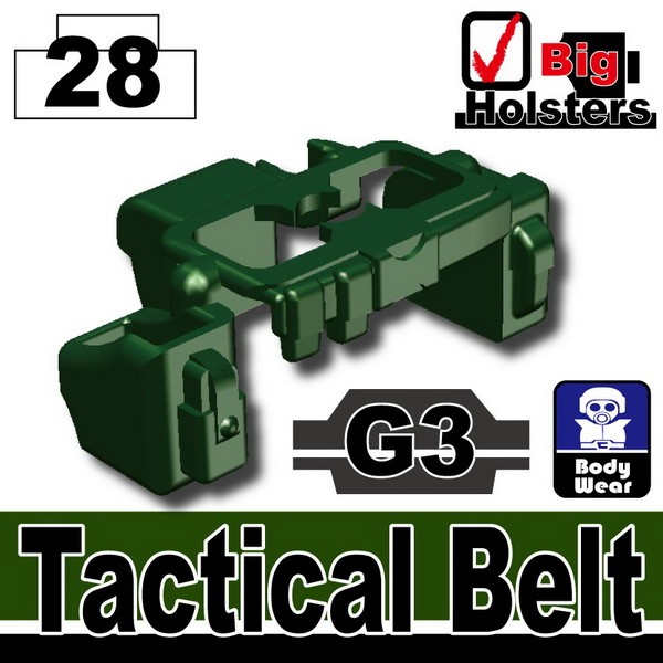 Dark Green_Tactical Belt(G3)
