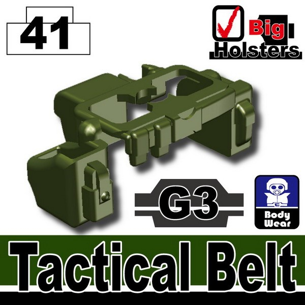 Tank Green_Tactical Belt(G3)