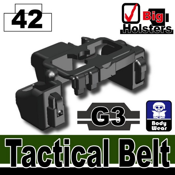 Iron Black_Tactical Belt(G3)