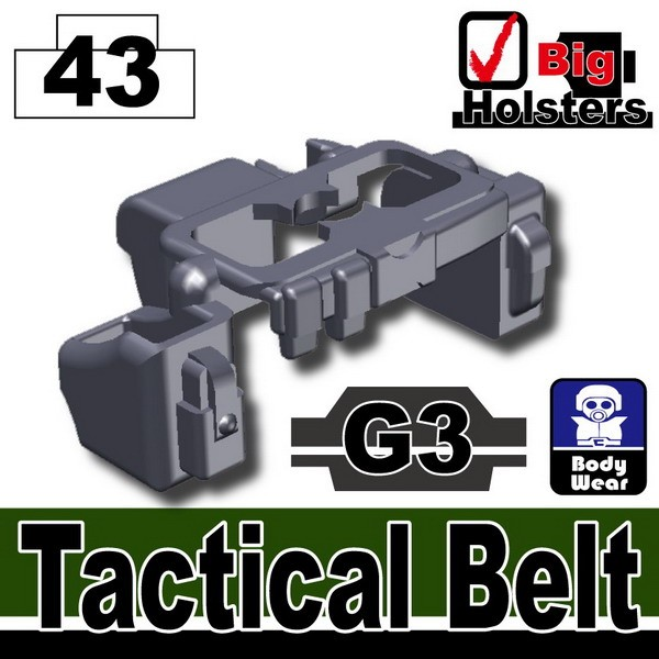 Dark Blue Gray_Tactical Belt(G3)
