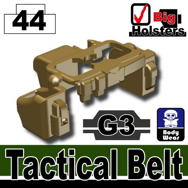 Dark Tan-2_Tactical Belt(G3)