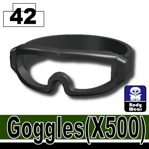 Iron Black_Goggles(X500)