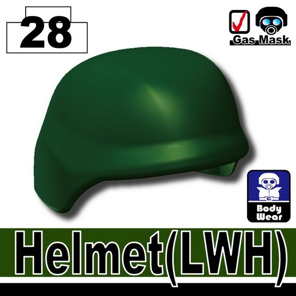 Dark Green_Helmet(LWH)