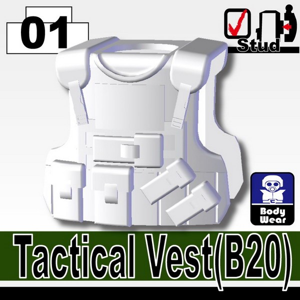 White_Tactical Vest(B20)