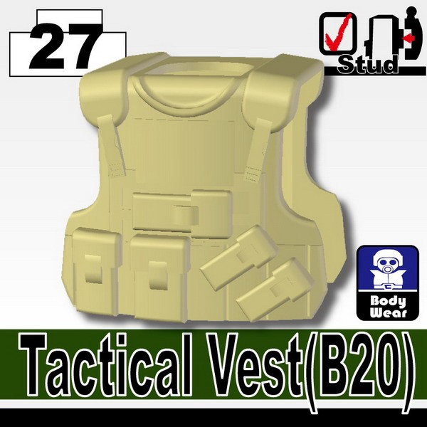 Tan_Tactical Vest(B20)