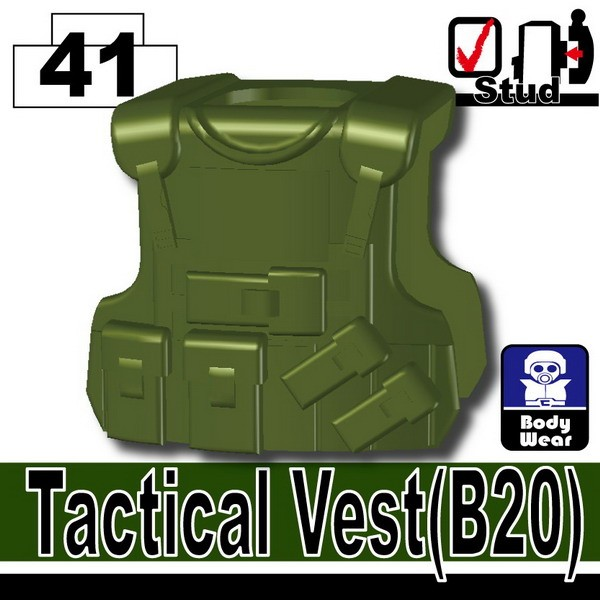 Tank Green_Tactical Vest(B20)