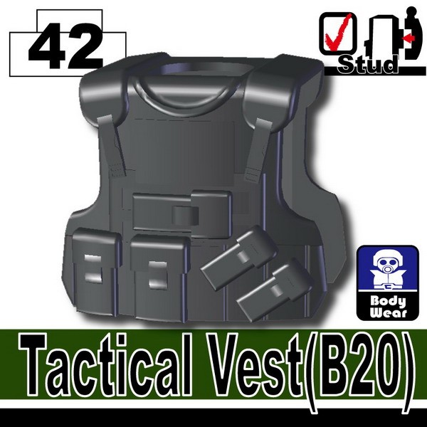 Iron Black_Tactical Vest(B20)
