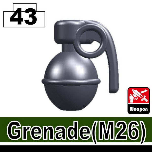 Dark Blue Gray_Grenade(M26)