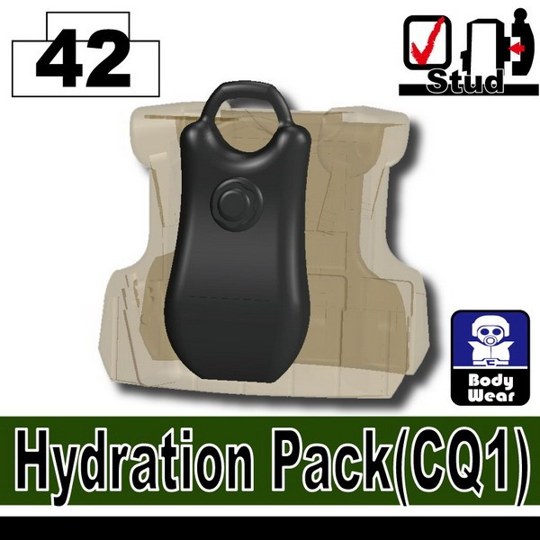 Iron Black_Hydration Pack(CQ1)