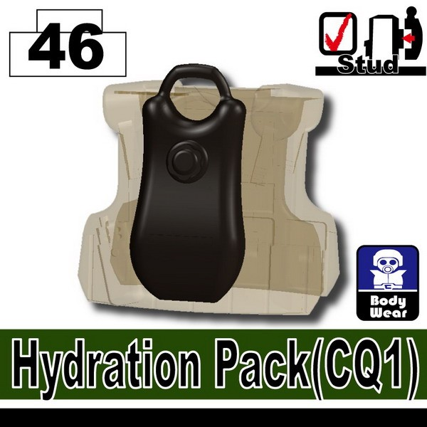 Pearl Dark Black_Hydration Pack(CQ1)