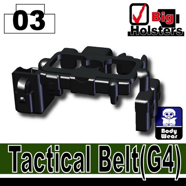 Black_Tactical Belt(G4)