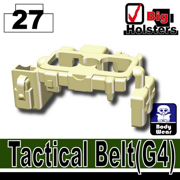 Tan_Tactical Belt(G4)