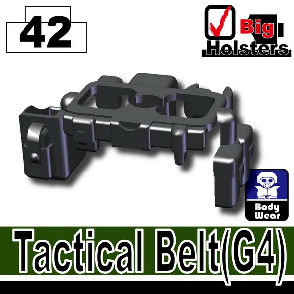 Iron Black_Tactical Belt(G4)